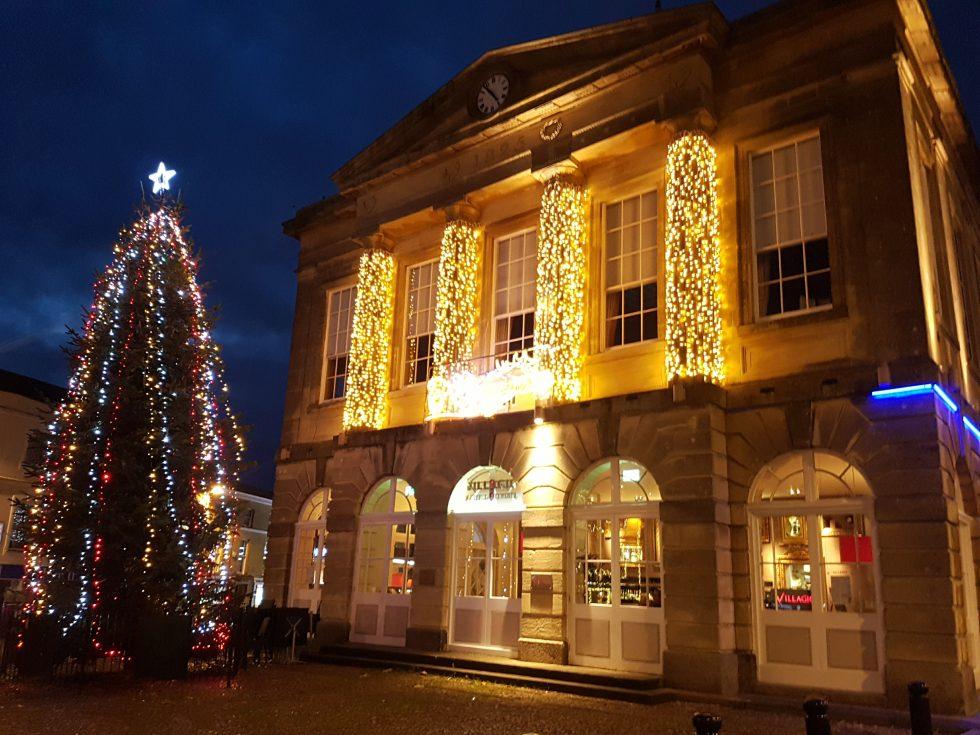 Andover Guildhall at Christmas 2016