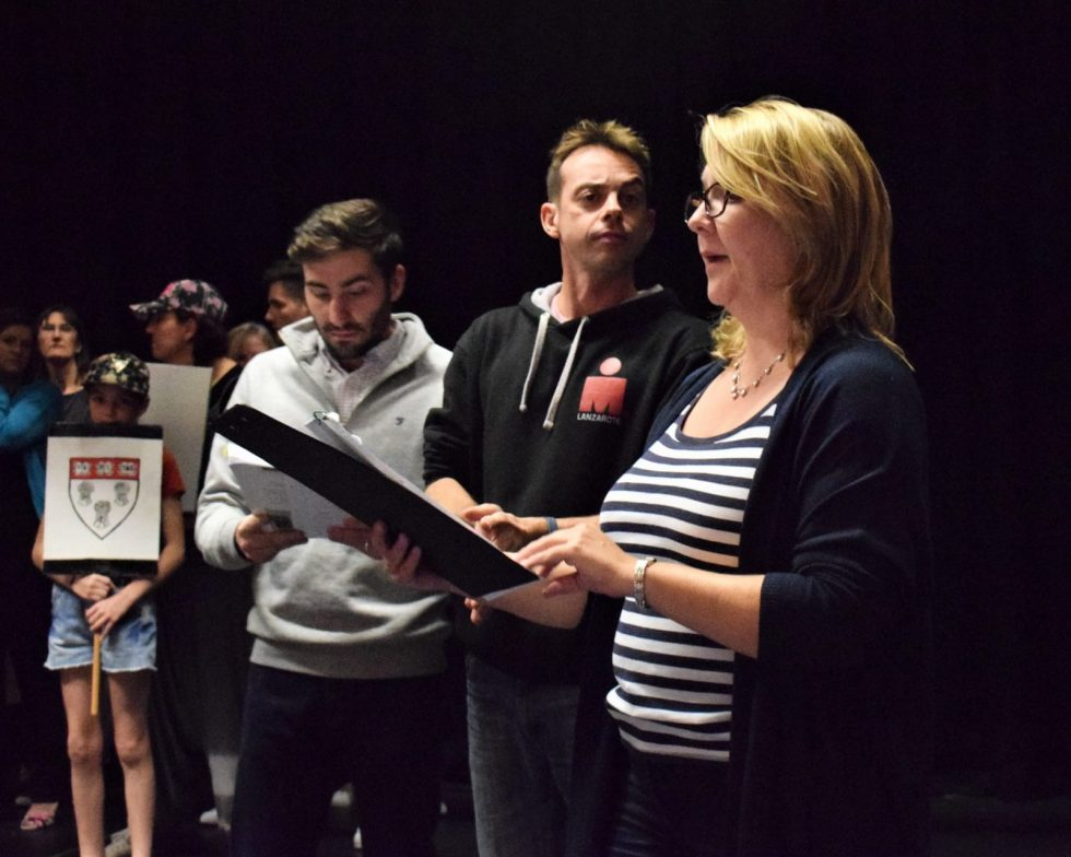 AMTC: Rehearsals for Legally Blonde