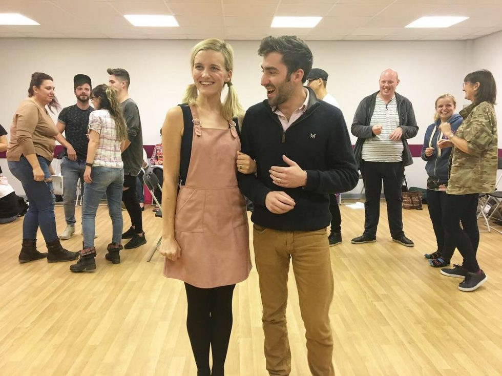 Legally Blonde Rehearsals: Sophie Ross as Elle