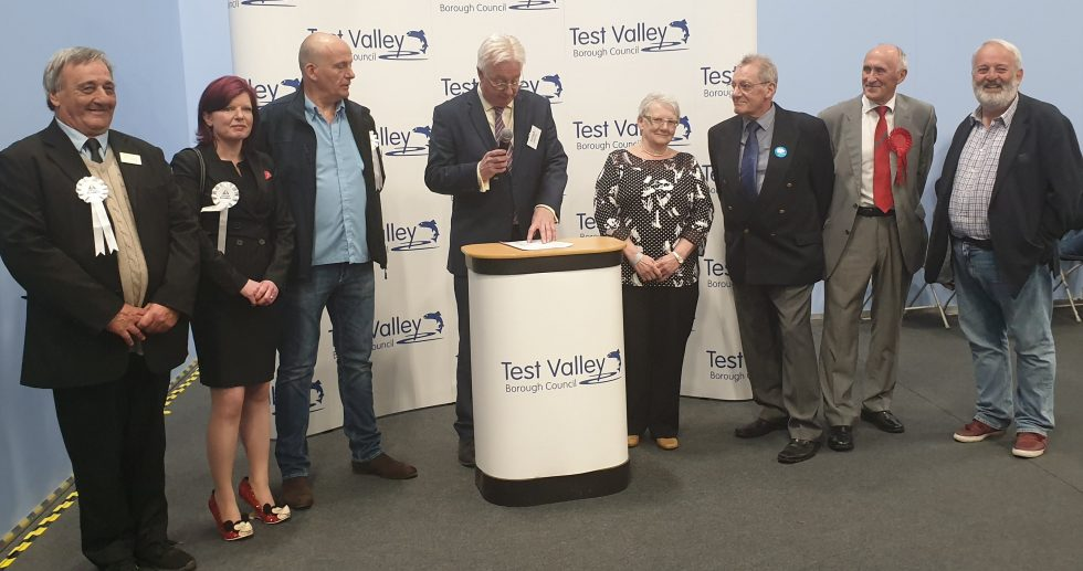 St Mary's Ward election result Andover Alliance Conservative Test Valley
